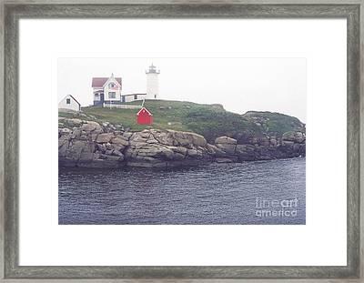 Cape Neddick Lighthouse Framed Print by Thomas R Fletcher