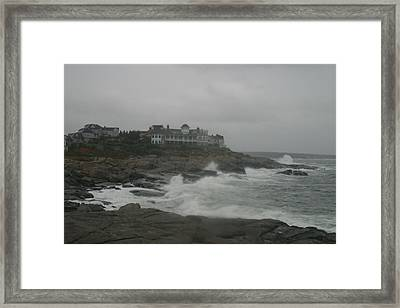 Cape Neddick Maine Framed Print by Imagery-at- Work