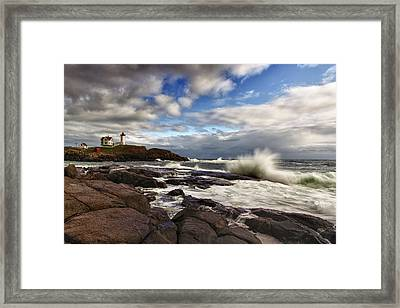 Cape Neddick Maine Framed Print by Rick Berk