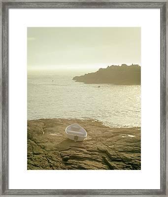 Cape Neddick Morning Framed Print by Joseph Smith
