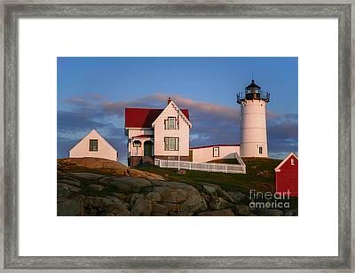 Cape Neddick Nubble Lighthouse 2634 Framed Print