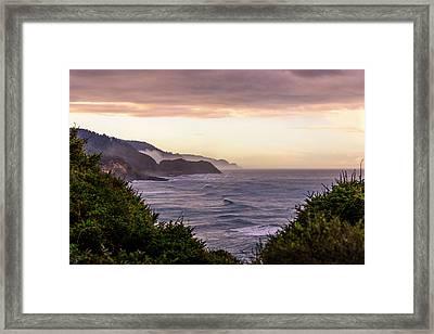 Cape Perpetua, Oregon Coast Framed Print