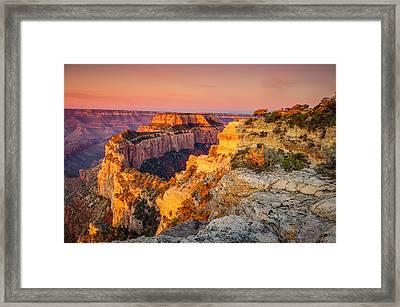 Cape Royal Sunrise Grand Canyon Framed Print