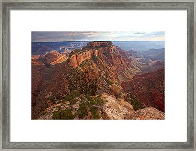 Cape Royal Sunset Framed Print by Mike Buchheit