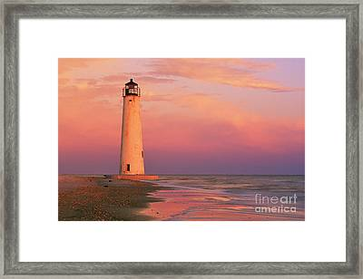 Cape Saint George Lighthouse - Fs000117 Framed Print