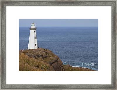 Cape Spear Framed Print