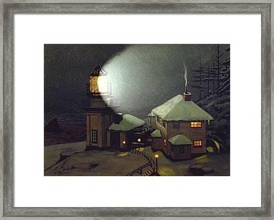 Cape St. Elias Framed Print by James Lyman