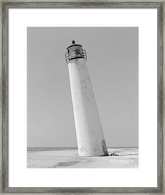Cape St. George Lighthouse Florida Print Two Framed Print by Pd