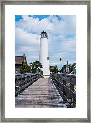 Cape St. George Lighthouse Framed Print