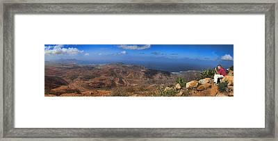 Cape Verde Panorama Framed Print by David Smith