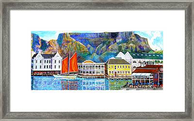 Cape Waterfront Framed Print by Michael Durst