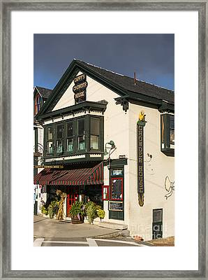 Capppy's Chowder House Framed Print by Bob Phillips