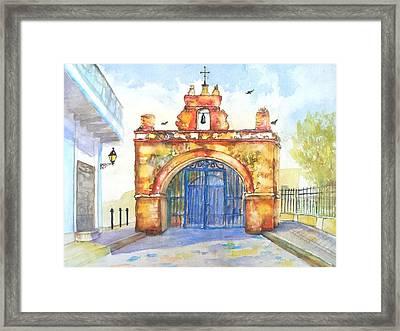 Capilla Del Cristo Puerto Rico Framed Print