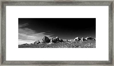 Capital Dome 3 Framed Print by Randy Oberg