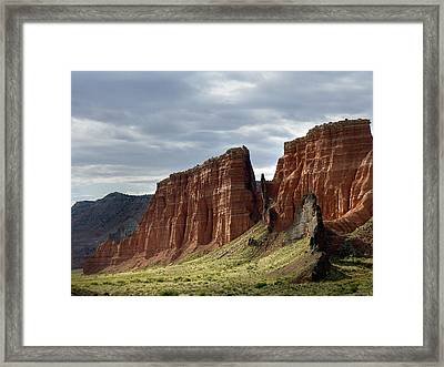 Capital Reef-cathedral Valley 9 Framed Print