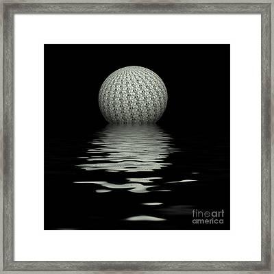 Capitalist Planet Framed Print