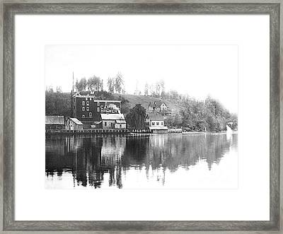Framed Print featuring the photograph Capitol Brewing Company by Joe Jeffers