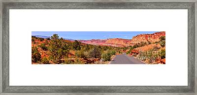 Capitol Colors Panorama Framed Print