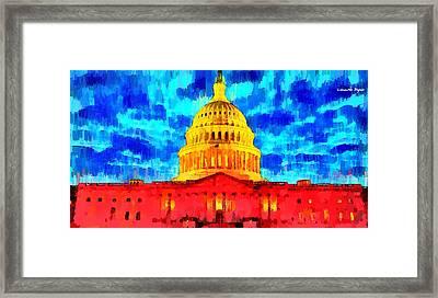Capitol - Da Framed Print