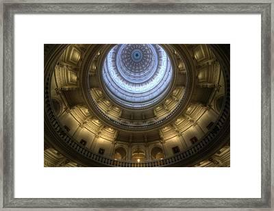 Capitol Dome Interior Framed Print