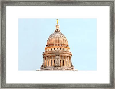 Capitol Illumination Framed Print by Todd Klassy