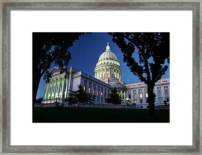 Capitol Lights Framed Print by Todd Klassy