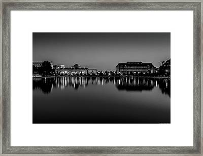 Capitol Reflection Framed Print