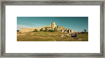 Capitol Rock Framed Print