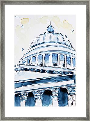 Capitol Framed Print by Shaina Stinard
