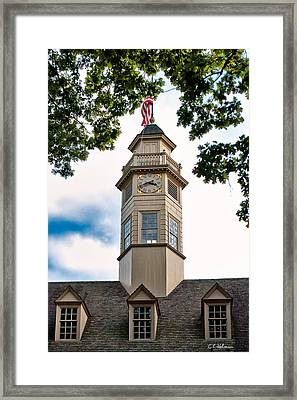 Capitol Time Framed Print by Christopher Holmes