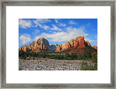 Capitol To Coffeepot Framed Print