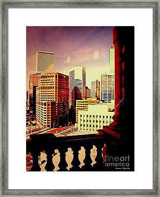 Capitol View Framed Print