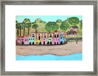 Capitola By The Sea Framed Print