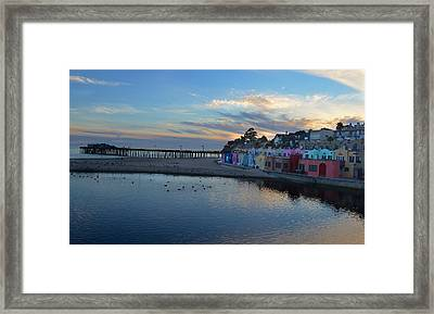 Capitola In October Framed Print by Alex King