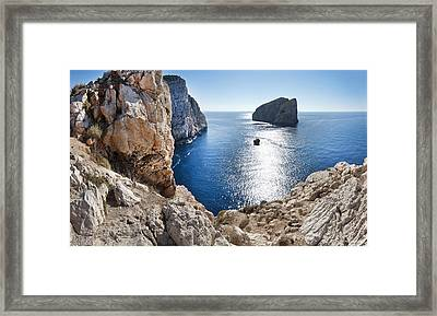 Capo Caccia Framed Print by Robert Lacy