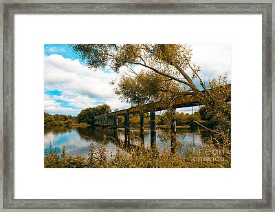 Cappaquin Railway Bridge Framed Print