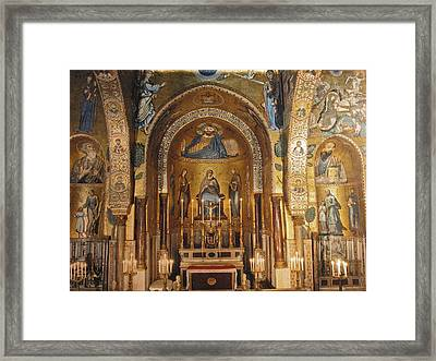 Cappella Palatina Framed Print