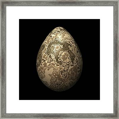 Cappuccino Egg Framed Print by Hakon Soreide