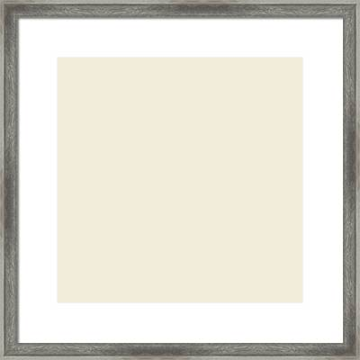 Cappuccino White  Framed Print by Lena Photo Art
