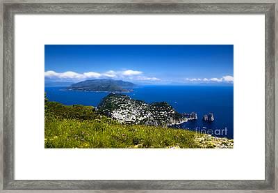 Capri Framed Print by Alessandro Giorgi Art Photography