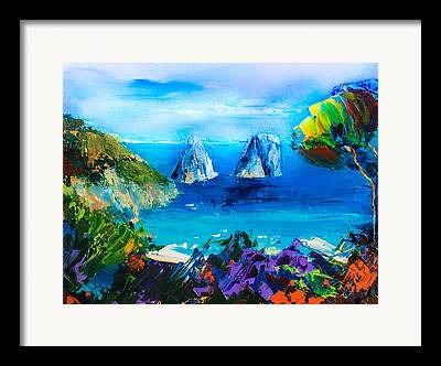 Beautiful Vistas Paintings Framed Prints