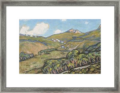 Capri Landscape Framed Print by Ants Laikmaa