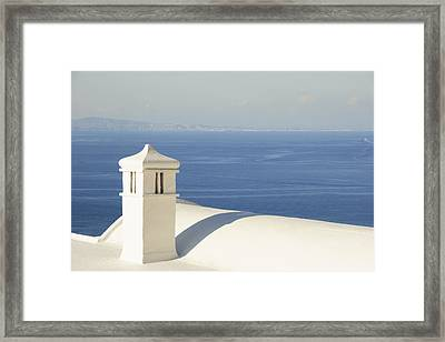 Framed Print featuring the photograph Capri by Silvia Bruno