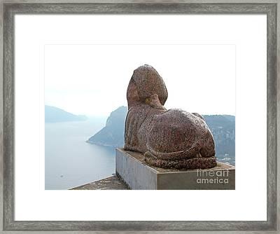 Capri, Villa San Michele 1 Framed Print