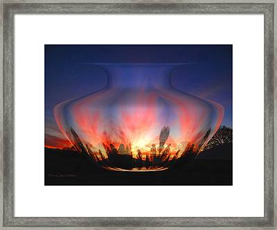 Framed Print featuring the photograph Capricorn Morning by Joyce Dickens