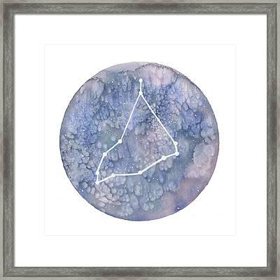 Capricorn Framed Print by Stephie Jones