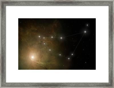 Capricornus Framed Print by Ian Merton