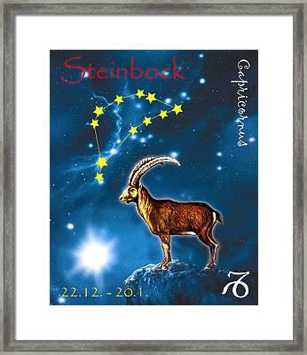 Capricornus Framed Print
