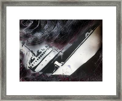Capsize Framed Print by Tim Blackburn