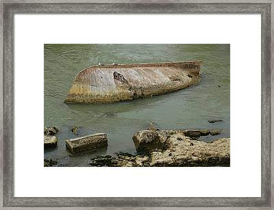 Capsized Framed Print by JAMART Photography